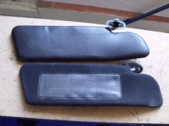 MAZDA MX5 EUNOS (MK1 1989 -1997 ) SUN VISORS - PAIR - ONE PIECE - NOT FOLDING